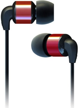 SoundMagic PL11 Wired Headphones(Red, In the Ear)