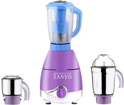 Master ClassSanyo ABS Plastic LPMA17_134 750 W Juicer Mixer Grinder(Lavender, 3 Jars)