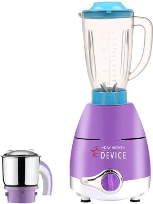 Day-Night Star Device ABS Plastic LPMA17_308 1000 W Juicer Mixer Grinder(Lavender, 2 Jars)