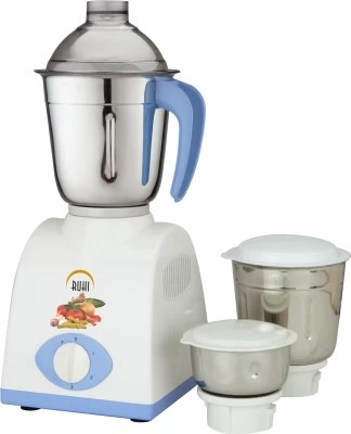 Ruhi AM 28A 500 W Mixer Grinder(Blue, White, 3 Jars)