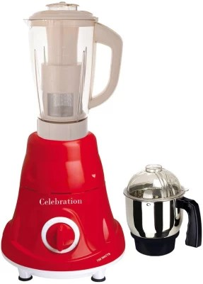 Celebration Latest Jar attachments of chutney & juicer jarType-70 750 W Juicer Mixer Grinder(Multicolor, 2 Jars)