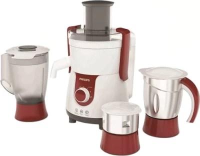 Philips HL 7715 700 W Juicer Mixer Grinder(Red, 3 Jars)