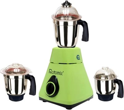 Rotomix MG16-293 1000 W Mixer Grinder(Green, 3 Jars)