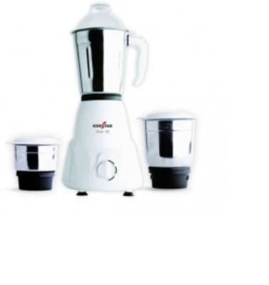 Kenstar KMA50W3S 500 W Mixer Grinder(White, 3 Jars)