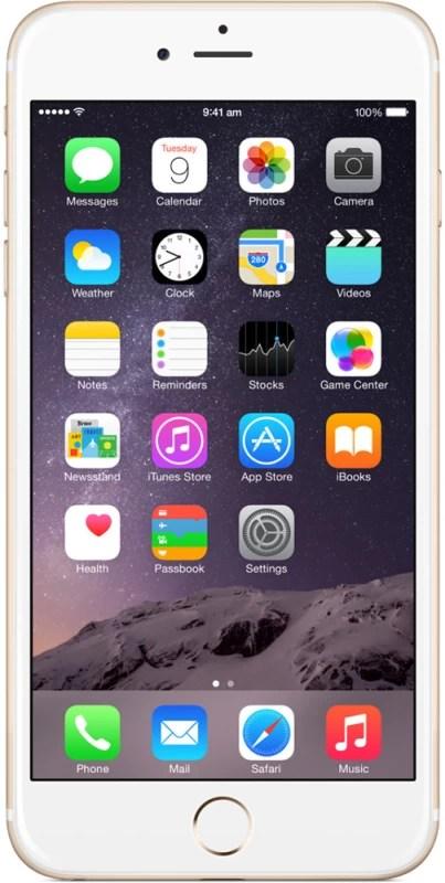 Apple iPhone 6 Plus (Gold, 128 GB)