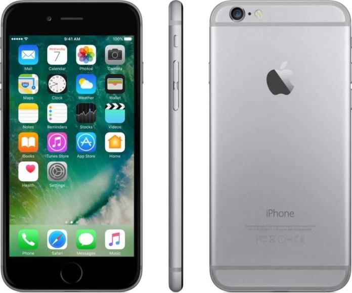 Apple iPhone 6 (Space Grey, 16 GB)(1 GB RAM)