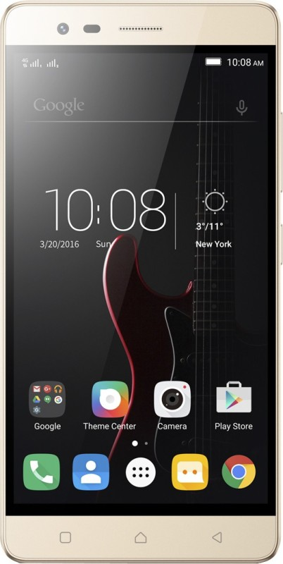 Lenovo Vibe K5 Note (Gold, 32 GB)(3 GB RAM)