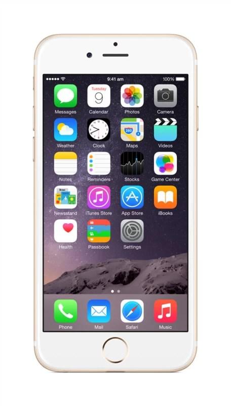 Apple iPhone 6 (Gold, 16 GB)(1 GB RAM)