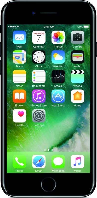 Apple iPhone 7 (Jet Black, 256 GB)