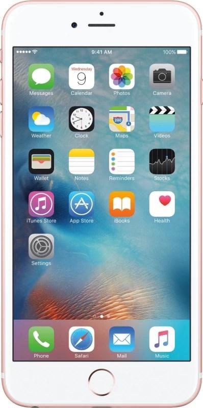 Apple iPhone 6s Plus (Rose Gold, 64 GB)(2 GB RAM)