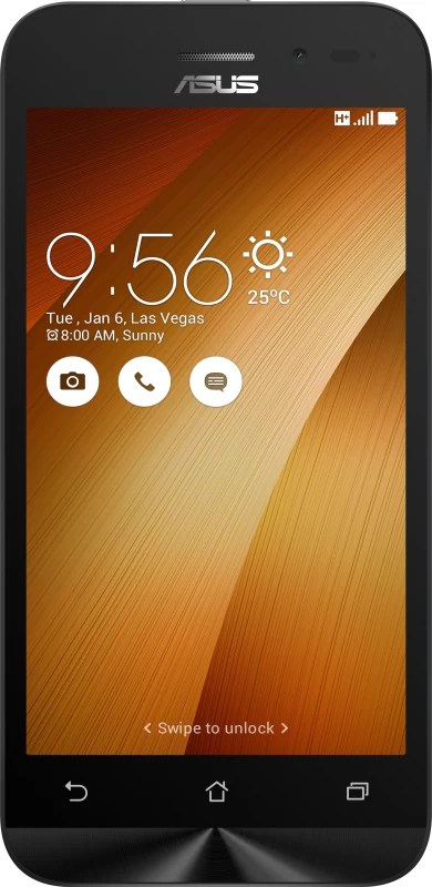 Asus Zenfone Go (2nd Gen) (Gold, 8 GB)(With 8 MP Camera)