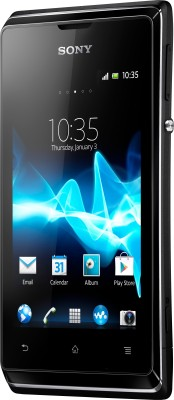 Sony Xperia E (Black, 4 GB)(512 MB RAM)