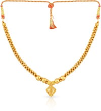 Malabar Gold and Diamonds MHAAAAAABUTM Gold Necklace in
