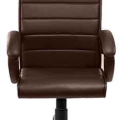 Revolving Chair Mechanism Coleman Lawn Chairs Buy Debono Ceo 331v Brown Leatherette High Back With Centre Tilt Office At Best Price In India