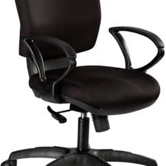 Revolving Chair Thames Folding Storage Hooks Office Study Chairs Debono Global 903v Medium Back With Synchro Tilt Mechanism In Black Fabric
