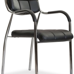 Steel Chair Price In Chennai Multi Position Beach Durian Spark Leatherette Visitor Black Furniture List
