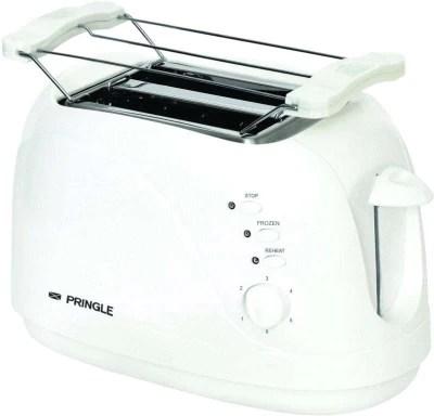 Pringle 401 750 W Pop Up Toaster(White)