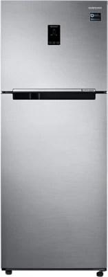 SAMSUNG 394 L Frost Free Double Door Refrigerator(RT39K5518S8, Elegant Inox, 2016)