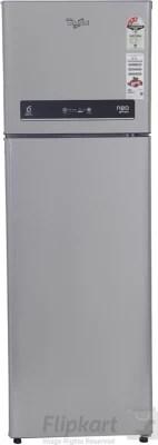 Whirlpool 292 L Frost Free Double Door Refrigerator(NEO IF305 ELT 3S, Alpha Steel, 2016)
