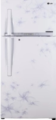 LG 496 L Frost Free Double Door Refrigerator(GL-T542GDWL, Daffodil White)