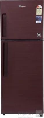Whirlpool 245 L Frost Free Double Door Refrigerator(NEO FR258 CLS PLUS 2S, Wine Titanium, 2016)