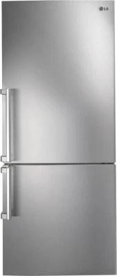 LG 450 L Frost Free Double Door Refrigerator(GC-B519ESQZ, Noble Steel)