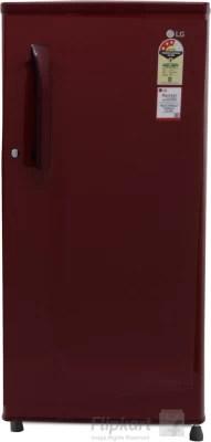 LG 188 L Direct Cool Single Door Refrigerator(GL-B191KRLQ, Ruby Luster, 2016)