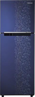 SAMSUNG 253 L Frost Free Double Door Refrigerator(RT28K3022VJ, Royal Tendrill Violet, 2016)
