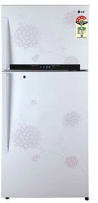 LG 495 L Frost Free Double Door Refrigerator(GL-M542GPHM(BW), Bouquet White, 2016)