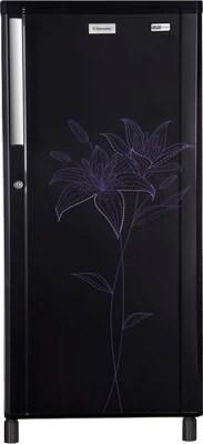Electrolux 190 L Direct Cool Single Door Refrigerator(EB204LTEFK, Euro Floral Black)