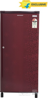 Kelvinator 190 L Direct Cool Single Door Refrigerator(KW203EFYR/G, Geometry Red, 2016)