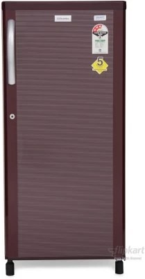 Electrolux 190 L Direct Cool Single Door Refrigerator(EB203PBS, Burgundy Stripes)