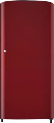 SAMSUNG 192 L Direct Cool Single Door Refrigerator(RR19H1414RH, Scarlet Red)