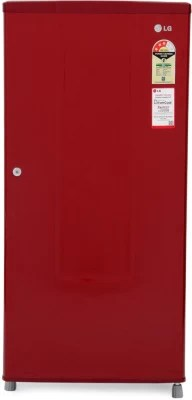 LG 185 L Direct Cool Single Door Refrigerator(GL - B195RRLR, Ruby Luster)