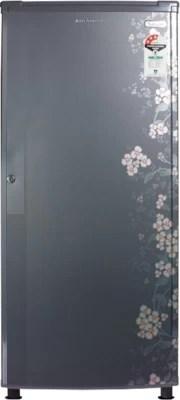 Kelvinator 150 L Direct Cool Single Door Refrigerator(KW163PT-HG, Grey Gulmohar)