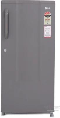 LG 185 L Direct Cool Single Door Refrigerator(GL-195CLGE4, Dim Grey)