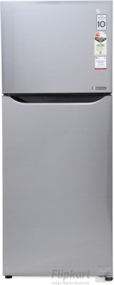 LG 260 L Frost Free Double Door Refrigerator(GL-Q292SGSR, Graphite Steel, 2016)