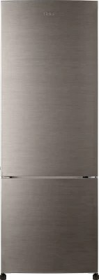 Haier 320 L Frost Free Double Door Refrigerator(HRB-3404BS-R, Brushline Silver)