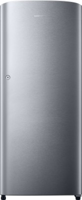 SAMSUNG 192 L Direct Cool Single Door Refrigerator(RR19K211ZSE, Elective Silver)