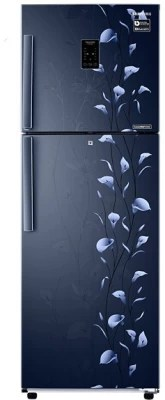 SAMSUNG 272 L Frost Free Double Door Refrigerator(RT30K3983UZ/HL, Tender Lily Blue)