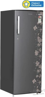 Kelvinator 307 L Direct Cool Single Door Refrigerator(KC323PTHG, Grey Gulmohar)