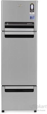 Whirlpool 260 L Frost Free Triple Door Refrigerator(FP 283D PROTTON ROY, Alpha Steel (N), 2016)