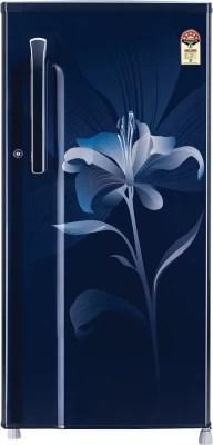 LG 190 L Direct Cool Single Door Refrigerator(GL-B205KMLN, Marine Lily, 2016)