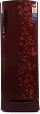 SAMSUNG 230 L Direct Cool Single Door Refrigerator(RR23J2835RX/TL, Orcherry Garnet Red)