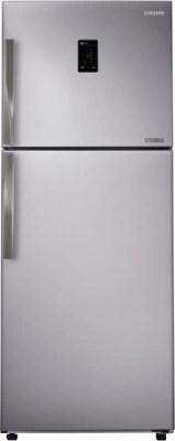 SAMSUNG 393 L Frost Free Double Door Refrigerator(RT39HDJTESP, Platinum Inox)