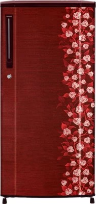 Haier 181 L Direct Cool Single Door Refrigerator(HRD-2015CRI-H, Red Floral)