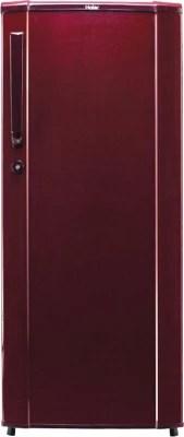 Haier 190 L Direct Cool Single Door Refrigerator(HRD-2105SR-H, Burgundy Red)