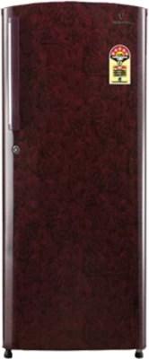 Videocon 245 L Direct Cool Single Door Refrigerator(VZ255LTC, Red)