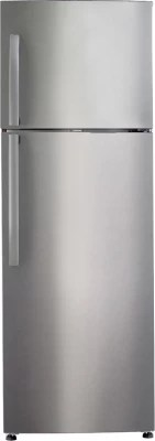Haier 247 L Frost Free Double Door Refrigerator(HRF-2674PSS-R, Stainless Steel)
