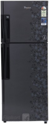 Whirlpool 245 L Frost Free Double Door Refrigerator(NEO FR258 ROY 2S, Midnight Bloom, 2016)